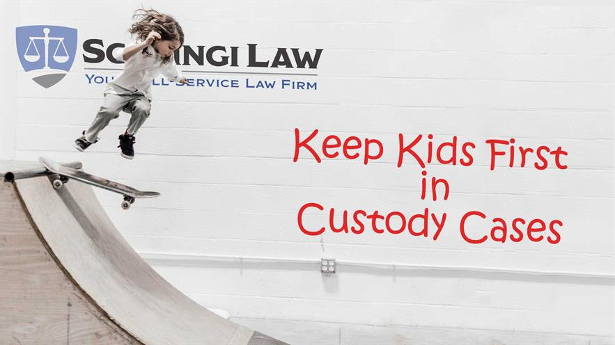 Keep Kids First in Custody Cases